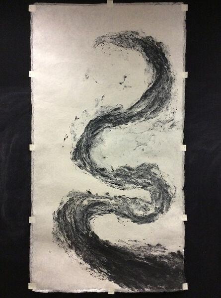 Monika Grzymala, 'Pulp Painting Serpent (Morph)', 2015