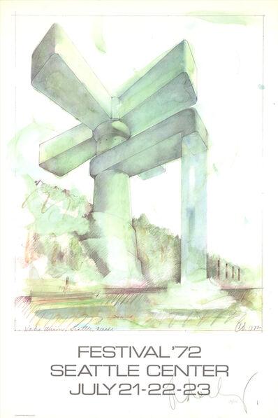 Claes Oldenburg, 'Lake Union Seattle Festival', 1972