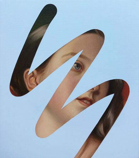 Lino Lago, 'Fake Abstract (Winterhalter, Queen Victoria)', 2020