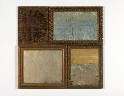 Flavio Favelli, 'Silver Gold', 2015