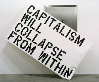 Elmgreen & Dragset, 'Capitalism Will Collapse From Within', 2003