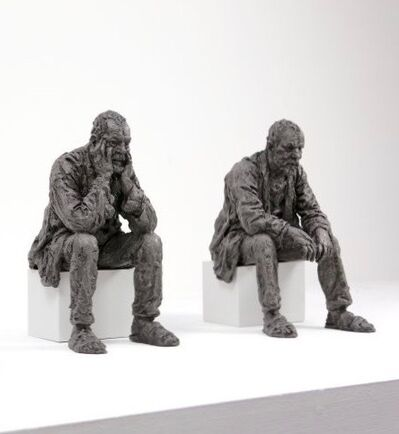 Sean Henry, 'Maquette for Seated Man', 2016