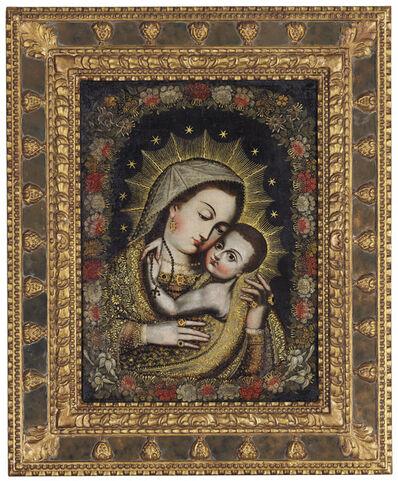 Cuzco School, 'Virgin with Christ Child', 18th century