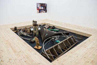 Fedir Tetyanych, 'The objects and fragments of installations of Fedir Tetyanych's studio'