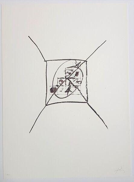 Antoni Tàpies, 'Llambrec-9', 1975