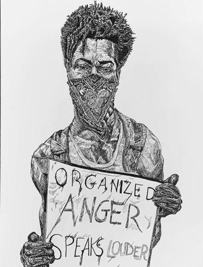 Dan Alvarado, 'Organized Anger Speaks Louder', 2020