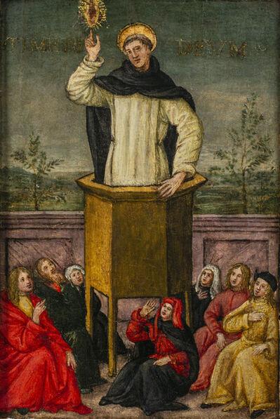 Master of Montespertoli, 'Saint Vincent Ferrer Preaching to the People of Salamanca', 1475-1525