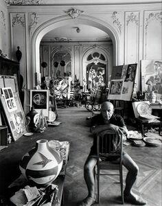 Arnold Newman, 'Pablo Picasso', 1956