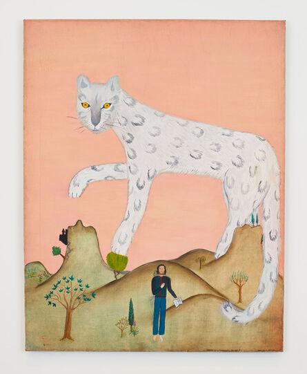 Cecilia Vicuña, 'Poeta y Leopardo de Nieve', 1969