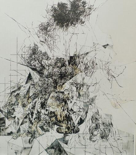 Zelin Seah, 'Flowers in a Vase Version B', 2014