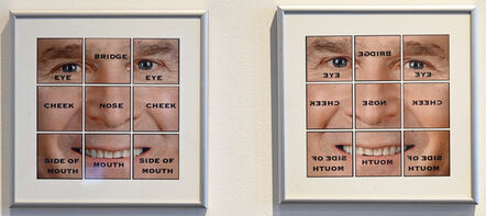 Florence Weisz, 'Bushart Jr: Named Face-Parts left and right', 2005