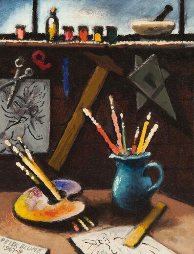 Peter Blume, 'Studio Table Study ', 1967