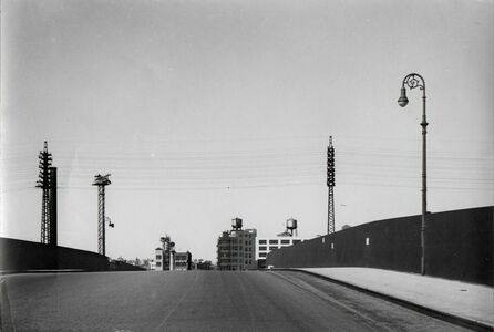 Rudy Burckhardt, 'Overpass, Astoria, Queens', 1943