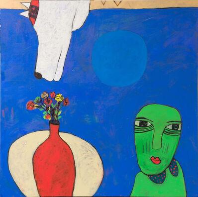 Islam Kamil, 'The Green Dress / ذات الرداء الاخضر', 2018