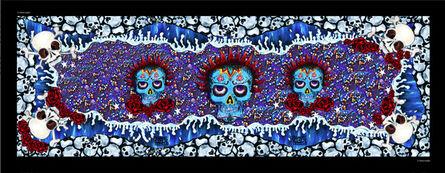 Chloe Trujillo, 'Skulls (Blue)'