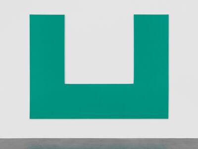 Olivier Mosset, 'Untitled (U)', 2013