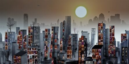Young Sam Kim, 'The City Potraits'