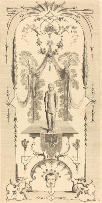 Louis Crépy after Antoine Watteau, 'Gilles'