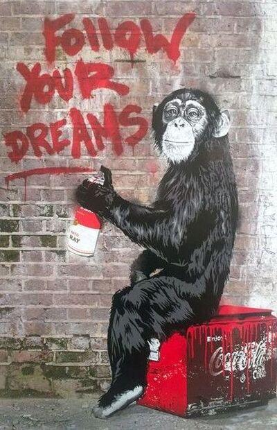 Mr. Brainwash, 'MR BRAINWASH, FOLLOW YOUR DREAMS', 2012
