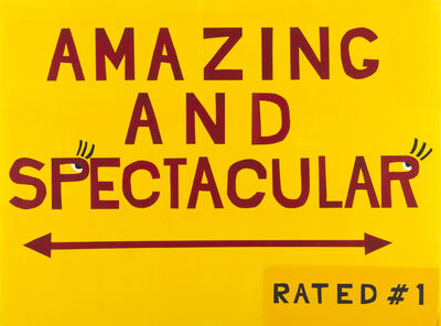 Todd Norsten, 'AMAZING AND SPECTACULAR', 2017