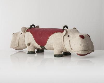 "Renate Müller, 'Double-face ""Therapeutic Toy"" Hippopotamus', 2013"