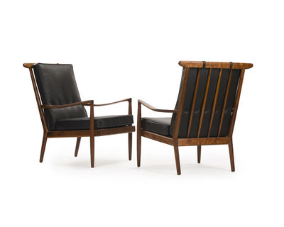 Sam Maloof, 'A pair of occasional armchairs', c.1950