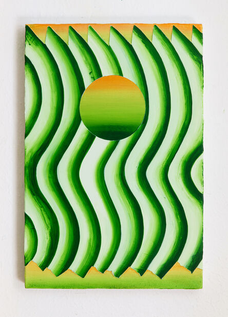 Bruno Novelli (a.k.a. Bruno 9li), 'Sol e Água de Coco', 2021