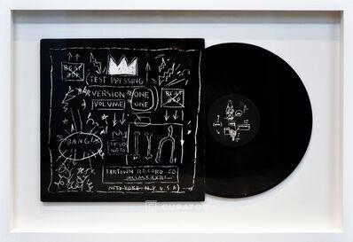 Jean-Michel Basquiat, 'BASQUIAT Beat Bop Vinyl Record (Framed)', 1980-1989