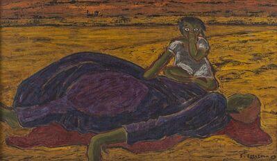 Inji Efflatoun, 'Inji Efflatoun', 1957