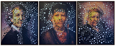 Albano Afonso, 'Autorretrato com Rembrandt Jovem, Meia-Idade e Velho [Self-portrait with young, middle-aged and old Rembrandt]', 2001-2014
