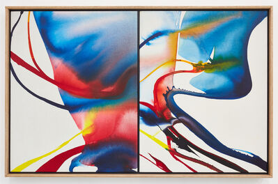Paul Jenkins, 'Phenomena Listen Listen, Diptych', 1968
