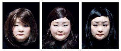 Tomoko Sawada, 'SET #18 from the series Facial Signature', 2015