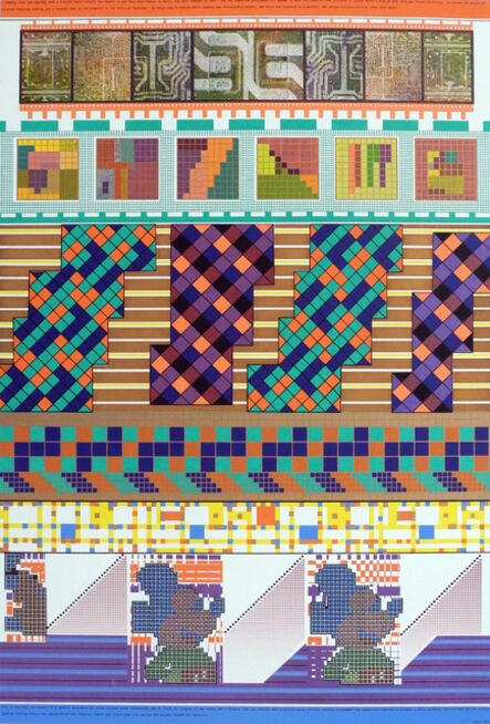 Eduardo Paolozzi, 'A formula that can shatter into a million glass bullets', 1967