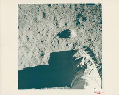 Buzz Aldrin, 'Aldrin's boot on the lunar soil, Apollo 11, July 1969'