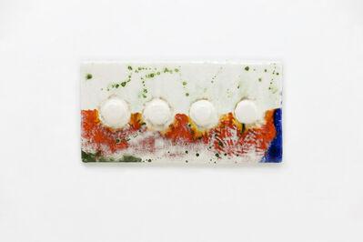 Lee Hun Chung, 'Tile with 4 hooks', 2016