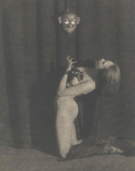 Germaine Krull, 'Dance Study with Mask', Berlin 1923