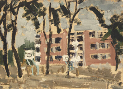 Zhang Wei (b. 1952), 'Apartment Building 居民楼', 1973
