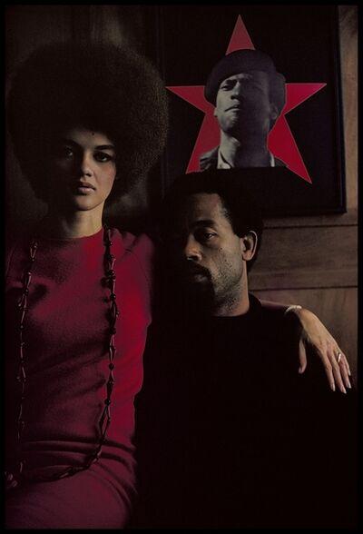 Gordon Parks, 'Eldridge Cleaver and His Wife, Kathleen, Algiers, Algeria', 1970