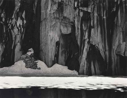 Ansel Adams, 'Frozen Lake and Cliffs, Sierra Nevada', 1932