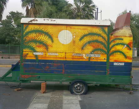 Jim Dow, 'Carrito Decorated with Palm Trees, Costanera, Parana, Entre Rios Province, Argentina', 2012