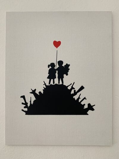 """Banksy, 'BANKSY DISMALAND """" KIDS WITH WEAPONS"""" ', 2015"""