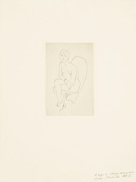 Henri Matisse, 'Nu au bracelet', 1913-1914