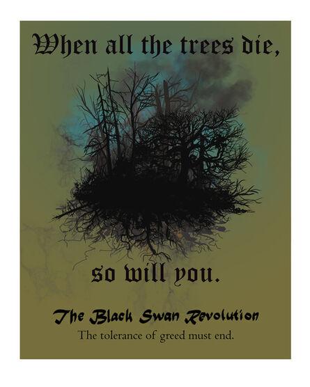 Cody Norris, 'The Black Swan Revolution (We all die)', 2020