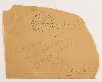 Pablo Picasso, 'Le Bac de Gaz', 1945