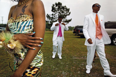 Gillian Laub, 'Seniors arriving at the first integrated prom', ca. 2010
