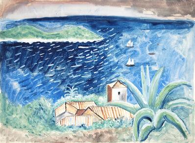 Max Peiffer Watenphul, 'Landschaft bei Ragusa (Dubrivnik)', 1926