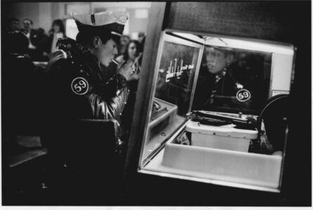 John 'Hoppy' Hopkins, 'Biker Lights a Cigarette at Juke Box, The 59 Club, Paddington, London', 1964