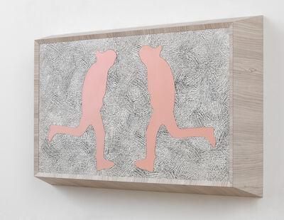 Richard Artschwager, 'Running Man (double pink)', 2013