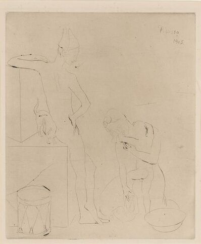 Pablo Picasso, 'Le Bain (Bloch 12)', 1905