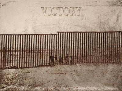 Loredana Longo, 'Victory#18 Mexican borders', 2017